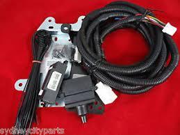 toyota landcruiser 200 series towbar wiring harness 7 pin flat