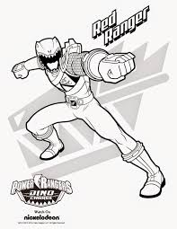 printable power rangers coloring pages kids games dover