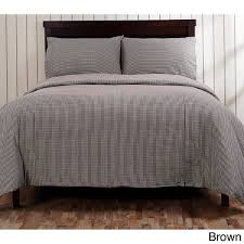 cane gingham duvet cover free shipping today overstock com