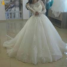 size wedding dresses with long trains