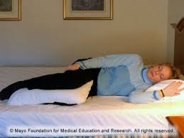 Comfortable Positions To Sleep In Slide Show Sleeping Positions That Reduce Back Pain Mayo Clinic