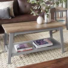 Coffee Table Sale by Furinno 11172 Just 2 Tier No Tools Coffee Table Walmart Com
