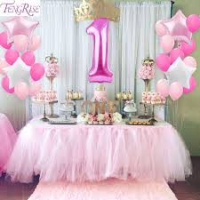 1st birthday party fengrise 1st birthday party decoration diy 40inch number 1