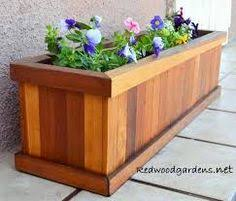 huge garden planter box made of redwood and 8 u0027 feet long by 3