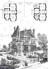 Castle Floor Plans Gothic Victorian Mansion Floor Plan Historic House Plans Luxihome