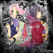imagenes de hinata emo sakura hinata emo picture 89070478 blingee com