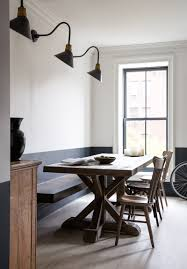 dining room brooklyn moody navy in a brooklyn townhouse your no 1 source of