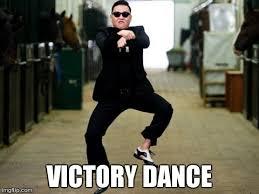 Victory Meme - psy horse dance meme imgflip