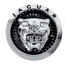 jaguar ornament grille badge black c2z31123 big c2z31124