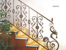 Fer Forge Stairs Design Ornamental Wrought Iron Components Iron Grill For Stairs