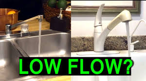 low flow kitchen faucet how to fix low water pressure in kitchen or bathroom faucet sink