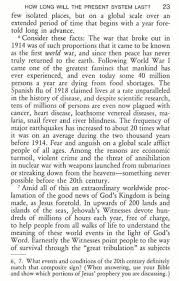 facts about earthquakes since 1914 and jehovah u0027s witnesses