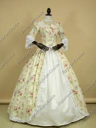 Ball Gown Halloween Costume Renaissance Colonial Vintage Alice Wonderland Ball Gown