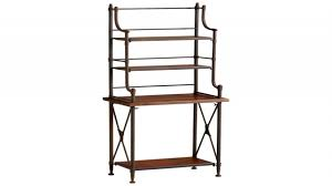 nice amish bakers rack design bakers rackfor bathroom wrought iron