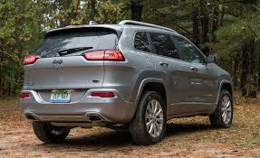 jeep cherokee 2017 jeep cherokee in depth model review car and driver