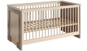 chambre bébé écologique lit bébé creme écologique bois massif discount