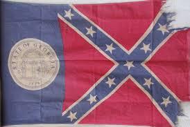 State Flag Georgia Vintage Georgia State Flag Sold Historical Americana