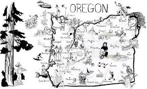 Lakeview Oregon Map by Traveling Wine Circus Travel Wine Rinse Repeat