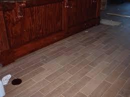 ceramic floor tile looks like wood u2014 new basement and tile