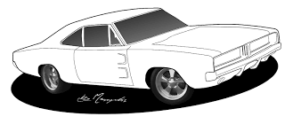 muscle car coloring pages to download and print for free car