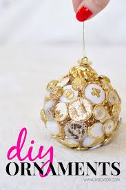 unique handmade christmas ornaments livelovediy diy christmas ornament ideas
