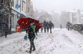 Snow Scotland Commuters Braced For Disruption As Snow And Heavy Expected