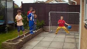 garden football challenges 5 years ago vs my brother youtube