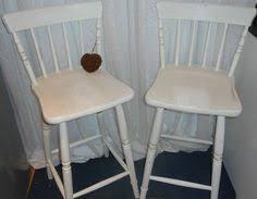 restyled vintage shabby chic bar stools for my kitchen kitchen