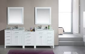 interior entrancing bathroom with wooden bathroom vanity units
