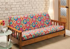 futon awesome futon covers beach cottage style inspirations