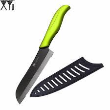 ceramic kitchen knives review handmade ceramic knife high grade santoku kitchen knife xyj brand