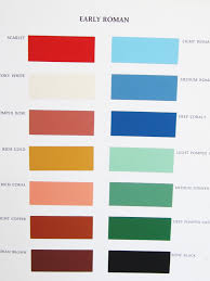 american color palette from the fifties from color for interiors