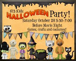 613kids halloween partyst mary u0027s road united church