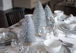 silver christmas top silver and white christmas decoration ideas christmas