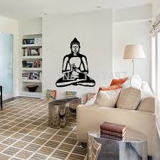 buddhist home decor wall decal cute vinyl sticker home arts wall decals buddhism