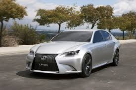 lexus gs 350 tuner lexus reveals first official lf gh concept photos