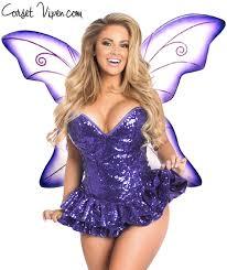 Halloween Corset Costumes Sequin Fairy Corset Costume Shop Corset Vixen Costumes