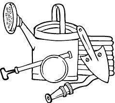 gardening coloring pages to download and print for free