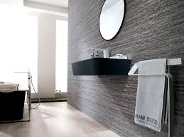 bathroom exciting porcelanosa tile with floating sink vanity and