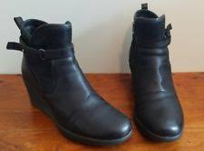 ugg australia womens emalie brown stout leather ankle boot 7 ebay ugg australia leather ankle boots for ebay