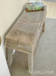 old fence wood bench my love 2 create