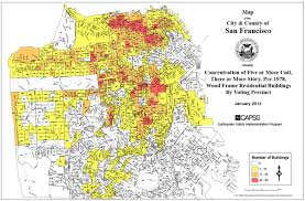 San Francisco County Map by San Francisco U201csoft Story U201d Retrofit Advisory U2013 Some Details