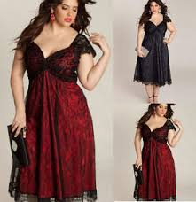 fat mm womens dress plus size short sleeve cocktail party evening