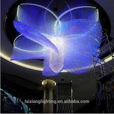 diy fiber optic chandelier kit fiber light end