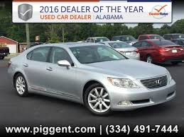 lexus dealers in alabama 2007 lexus ls in alabama for sale 34 used cars from 12 623