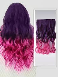 pink hair extensions colorful ombre hair extensions fashion color human hair extensions