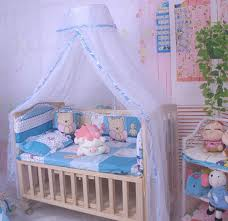 Lace Bed Canopy Baby Crib Dome Mosquito Netting Nursery Boys Girls Lace Bed Canopy