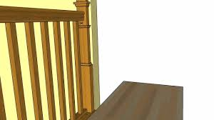 Removable Banister Wagner Removable Balustrade Youtube