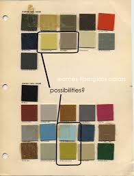 original mid century modern color palettes thinking about using