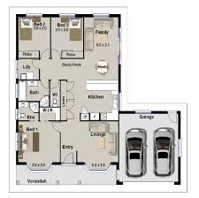 Floor Plan Bed 72 Best 3 Bedroom House Plans Images On Pinterest House Floor